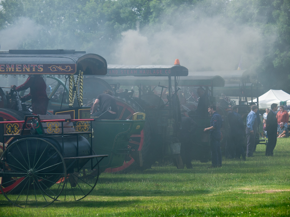 Pickering Traction Engine Rally, 2015