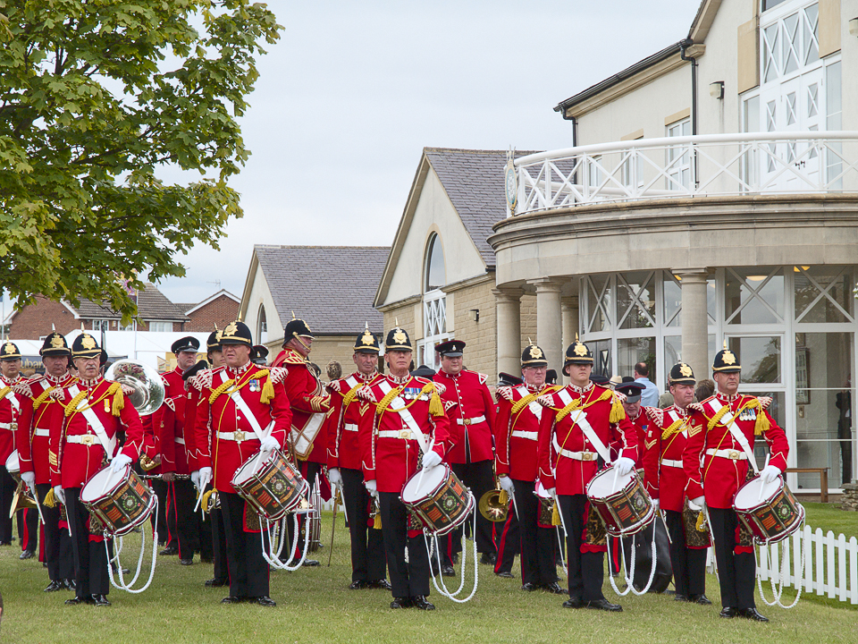 Marching band, Great Yorkshire Show, 2011