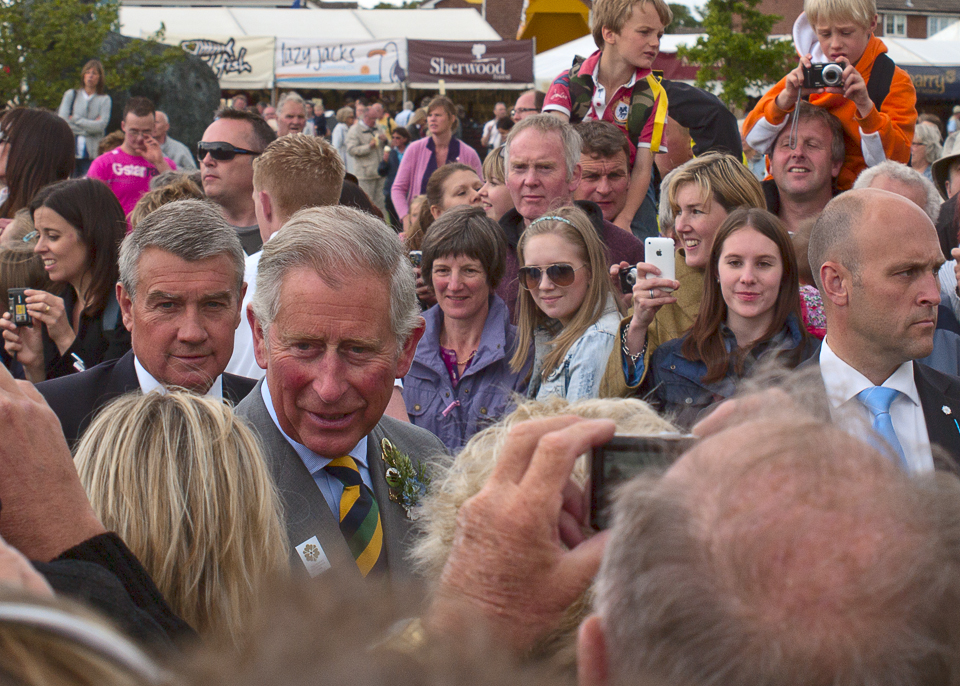 Prince Charles, Great Yorkshire Show, 2011
