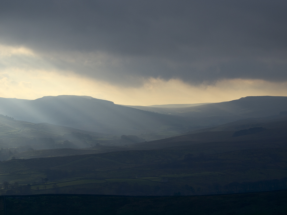 Upper Wensleydale from Abbotside Common