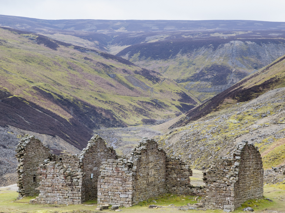 Remains of Bunton Lead Mine