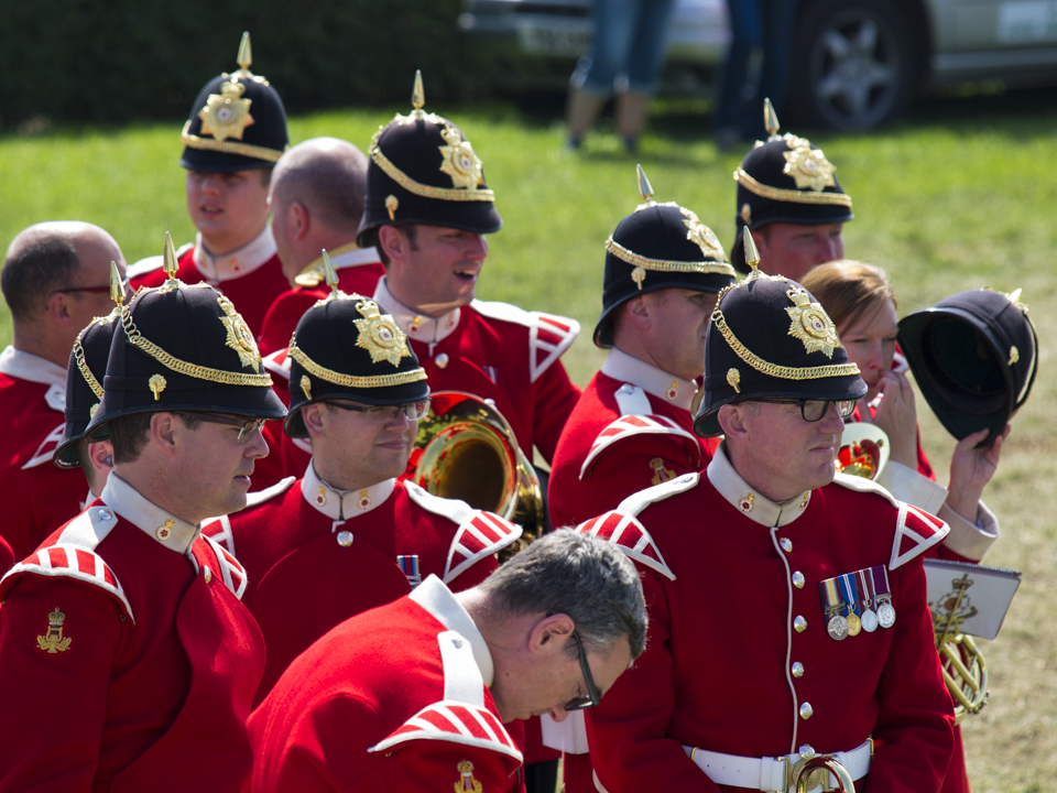 Band of the King's Division, Great Yorkshire Show, 2015