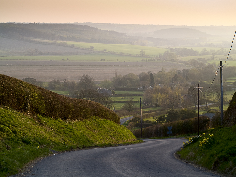 View from Netherby to Kearby road, Wharfedale, Yorkshire