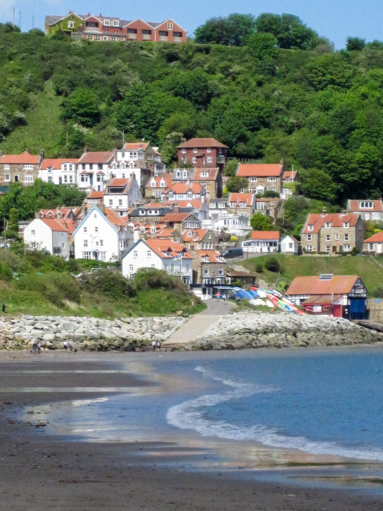 Runswick Bay from the beach