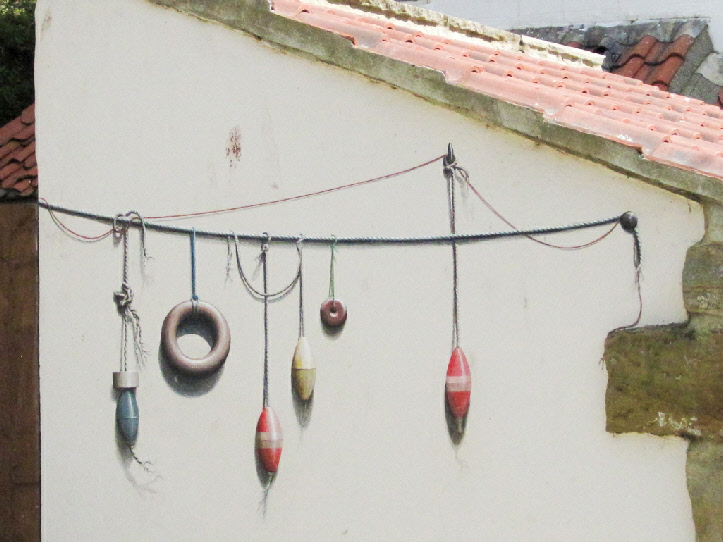 Art work, Staithes