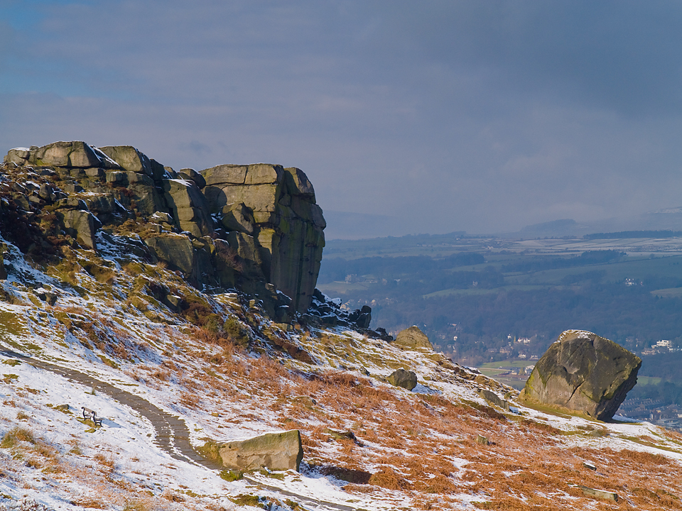 Cow and Calf rocks, Ilkley