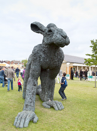 Sculpture, Great Yorkshire Show, 2011