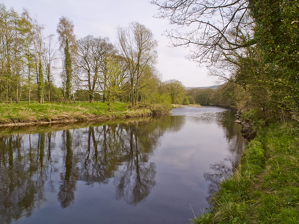 River Wharfe downstream of Addingham. Photograph by David Armitage