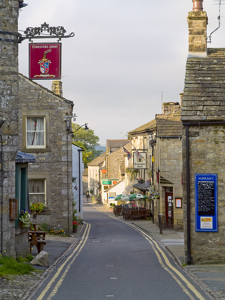Grassington main street