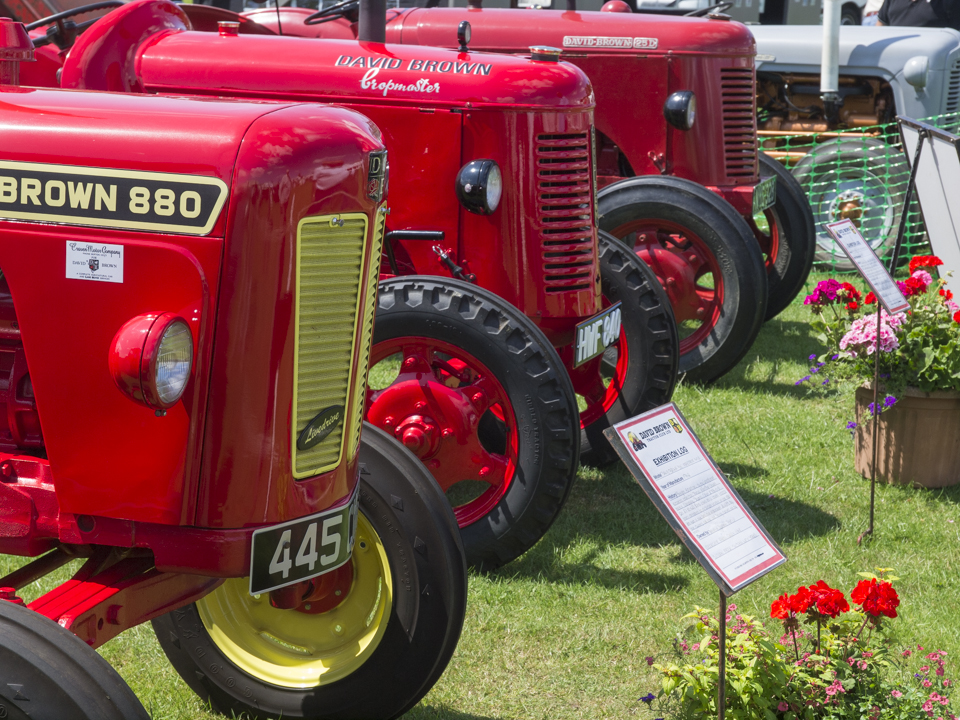 Tractors, Great Yorkshire Show, 2015