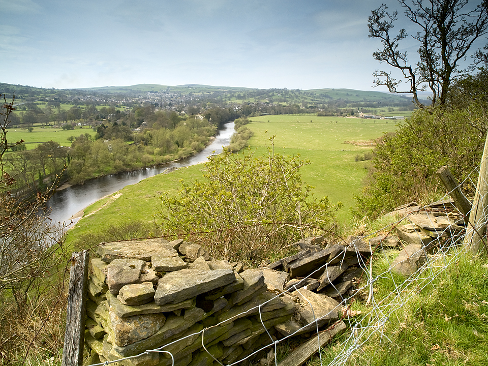 River Wharfe from Nesfield.