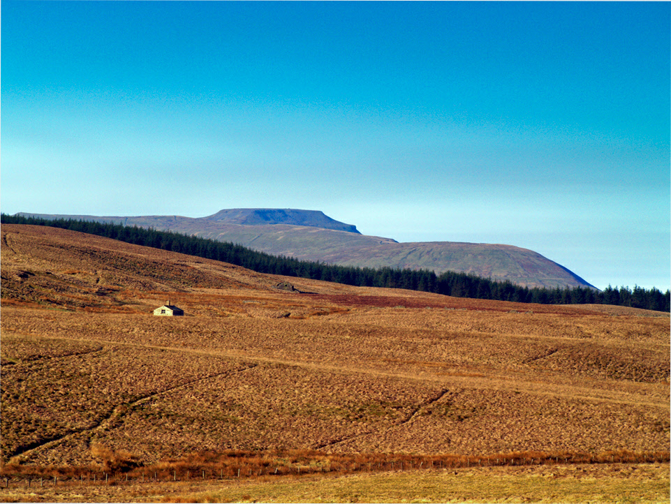 Oughtershaw and Ingleborough