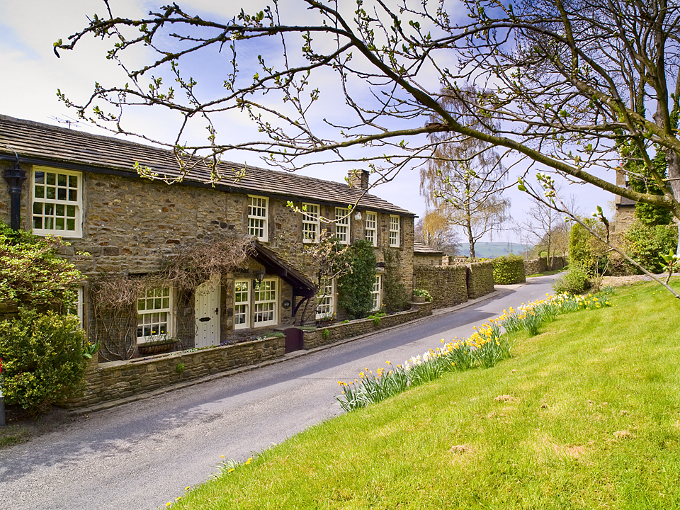 Nesfield village, Wharfedale. Photograph by David Armitage