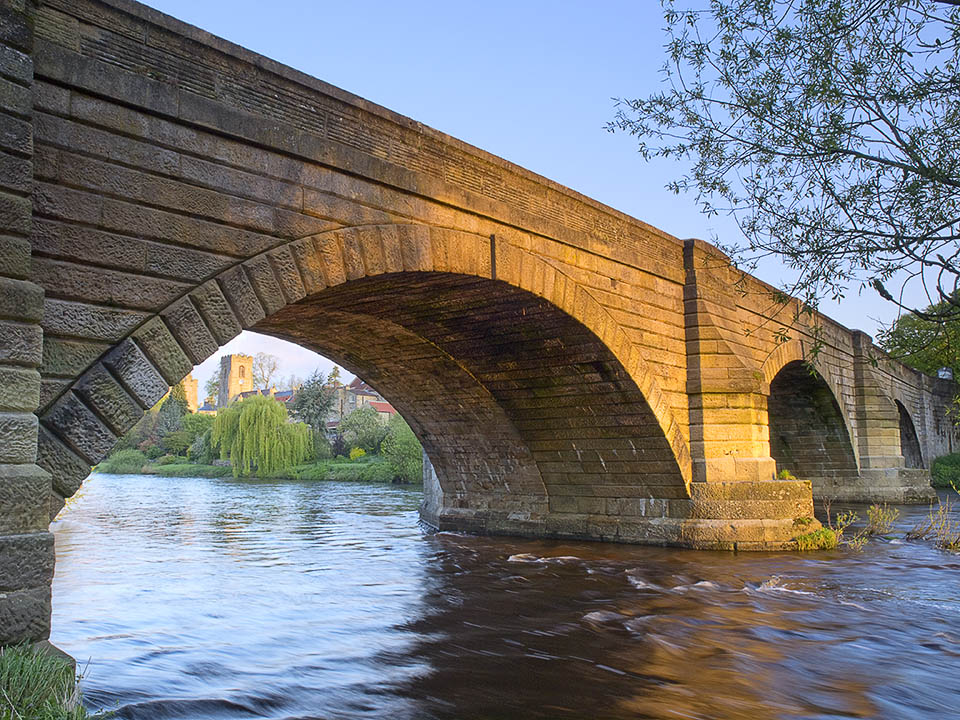 Bridge over the Ure at West Tanfield
