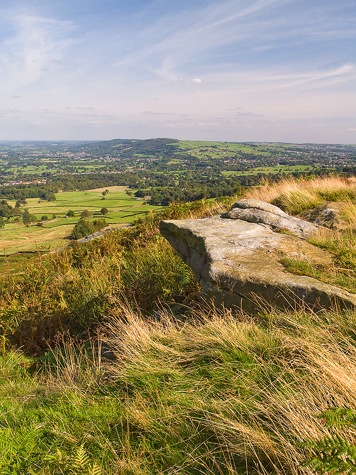 Burley Moor, and Otley Chevin, Wharfedale, Yorkshire